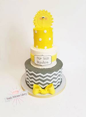 Your my Little Sunshine - Cake by Simply Delicious Cakery