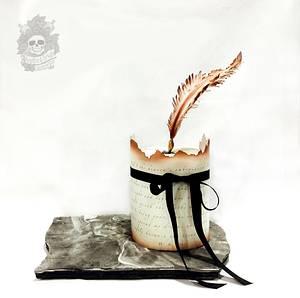 WB Yeats inspired cake - Cake by Karen Keaney
