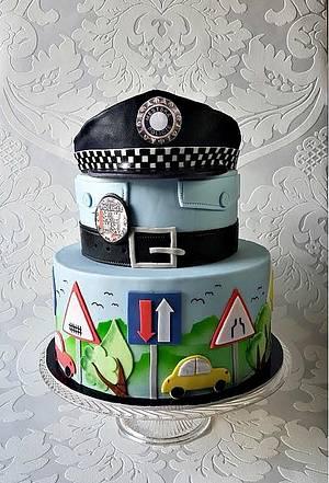 The Municipal Police - Cake by Frufi