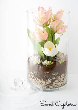 Spring Arrangement  - Cake by Sweet Euphoria NY