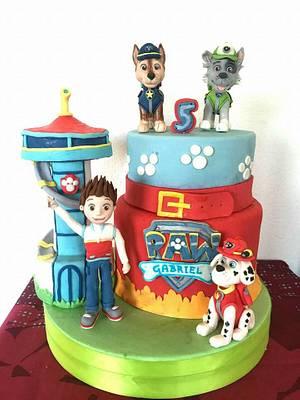 paw patrol cake - Cake by Torte decorate di Stefy by Stefania Sanna