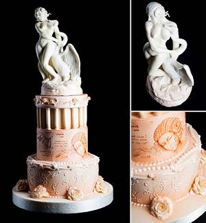 Leda and the Swan - Cake by Marco Pisani