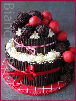 Schwarzwälder Kirsch Torte - Cake by Bianca's Bakery