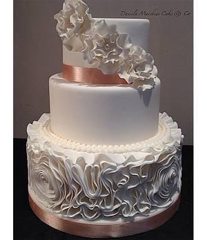 Ruffle cake - Cake by Daniela Marchese