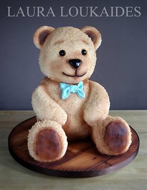 Bailey the Bear - Cake by Laura Loukaides