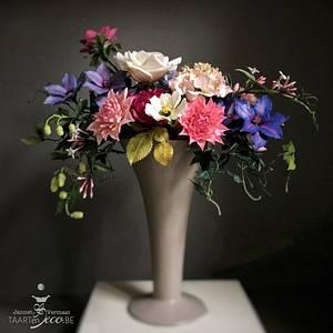 Barok bouquet - Cake by Taart en Deco