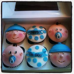 Oh Boy Cupcakes! - Cake by Mandy