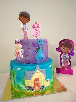 Doc McStuffins cake - Cake by My Sweet World_Elena