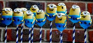 Despicable Me 'Minion' cake pops - Cake by CupcakesbyLouise