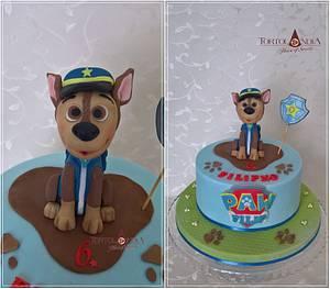 """Chase """"Paw Patrol"""" - Cake by Tortolandia"""