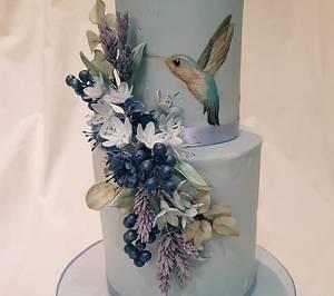 PARADISE - Cake by Thesugarfloristyork
