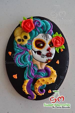 Catrina Day of the Dead - Cake by Clarisa Borunda