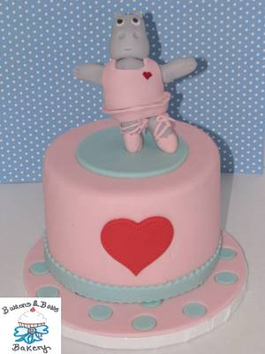 Dancing Hippo - Cake by BBB