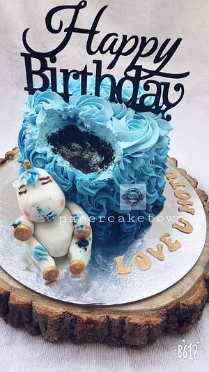 Be a unicorn🦄 in race of horses  - Cake by sheenam gupta