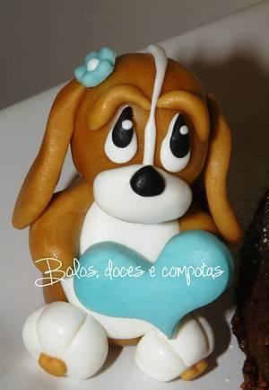 Basset Hound - Cake by bolosdocesecompotas