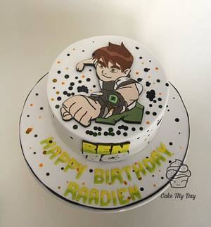 Ben 10 - Cake by Cake My Day