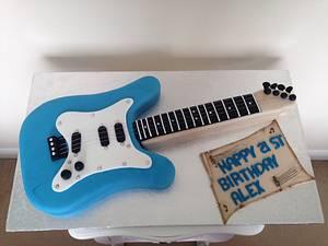 Guitar cake - Cake by Cake Love
