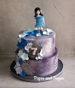 Gorjuss cake - Cake by Dina - Paper and Sugar