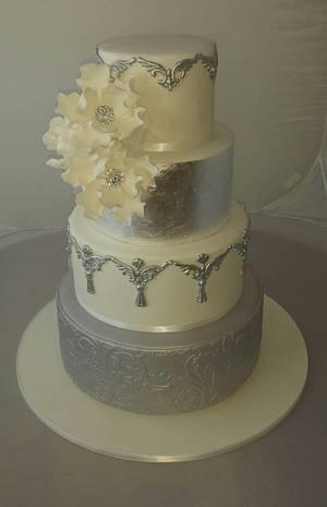 wedding cake - Cake by Paul Delaney of Delaneys cakes