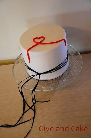 Valentine's day cake - Cake by giveandcake