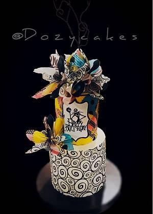 Jack Skellington Birthday Cake - Cake by Dozycakes