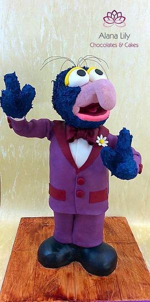 Gonzo from the Muppets - Cake by Alana Lily Chocolates & Cakes