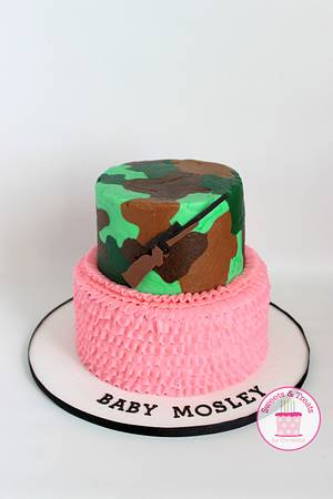 Gender Reveal Cake - Cake by Sweets and Treats by Christina