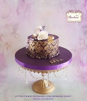 Dmask - Cake by mona ghobara/Bonboni Cake