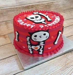 Dem Bones - Cake by K Cakes