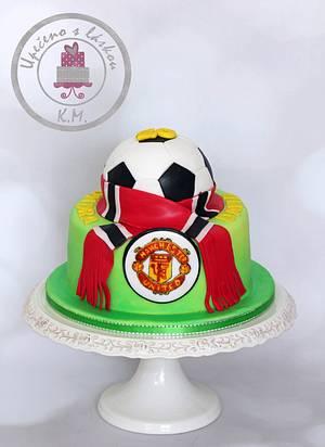 Manchester United - Cake by Tynka