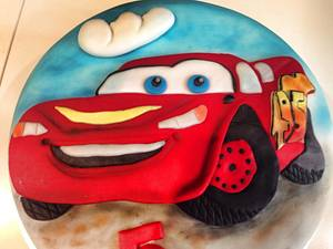 Cars Cake. - Cake by Laura's Bakery