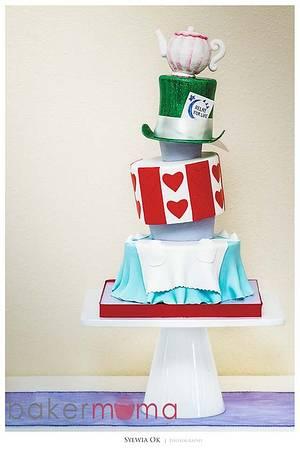 Alice in Wonderland  - Cake by Bakermama