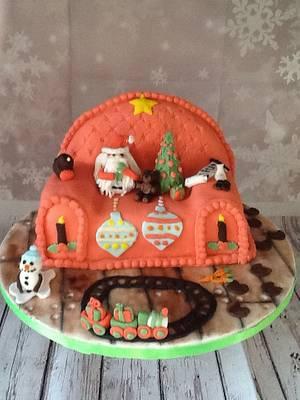Christmas Magic-cpc christmas collaboration  - Cake by Tania's Delights