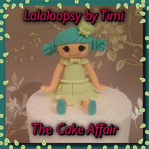 Lalaloopsy cake topper - Cake by Pauline flash
