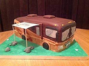 Georgetown RV Birthday Cake - Cake by Sarah's Crafty Cakes