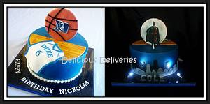 One Cake...Two Themes! - Cake by DeliciousDeliveries