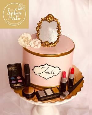 Makeup Cake  - Cake by Atelier Sabor Com Arte