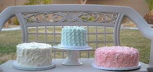 Shabby Chic - Cake by Sweet Creations by Sophie