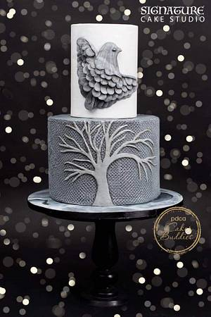 Cakerbuddies pottery theme  collaboration - freedom - Cake by Signature cake studio