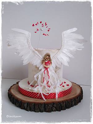 Guardian angel - Cake by Zuzana Kmecova