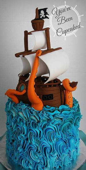 Ocean Vengeance - Cake by You've Been Cupcaked (Sara)