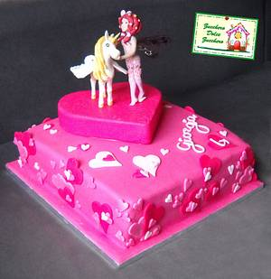 Torta Mia and Me - Cake by Claudia Lucaroni