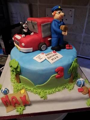 Postman Pat and Jess the cat. - Cake by Disneyworld25