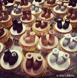 Uggies!!! - Cake by Biby's Bakery