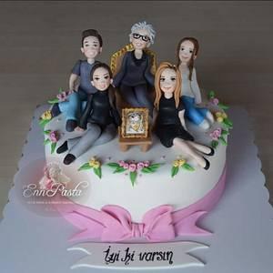 Family Cake - Cake by Evren Dagdeviren
