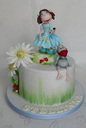 Spring cake for Stella - Cake by lamps