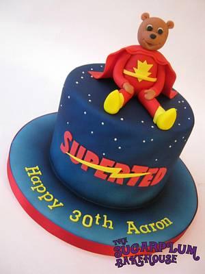 SuperTed! - Cake by Sam Harrison