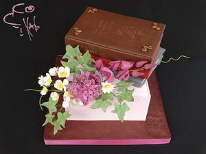 Russian Classics Books: Pushkin, Lermontov, Gogol - Cake by Diana