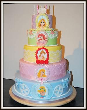Disney Princess Cake - Cake by Kupcake