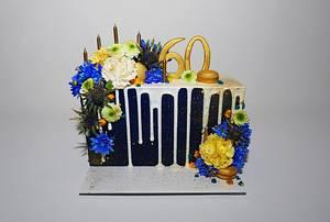 Birthday cake  - Cake by H